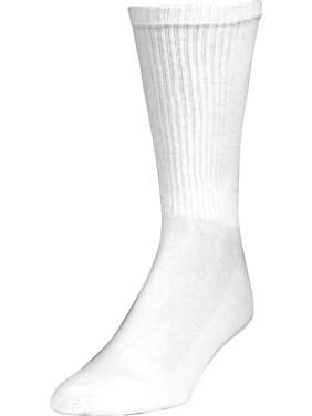 Gildan Men's Performance Cotton moveFX Crew Socks 12-Pack