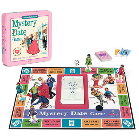 Winning Solutions Mystery Date Board Game, Nostalgia Edition Game Tin](Halloween Mystery Box Game Ideas)
