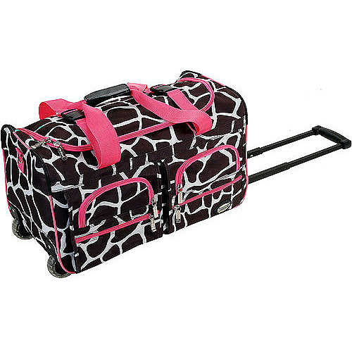 "Rockland Luggage 22"" Rolling Duffle Bag, Multiple Colors"