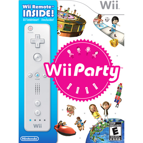 Wii Party w/ White Wii Remote Controller (Wii)