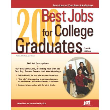 200 Best Jobs for College Graduates - eBook