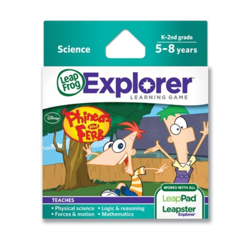 LeapFrog Disney Phineas and Ferb Learning Game (Works with Tablets, LeapsterGS, and Leapster Explorer)