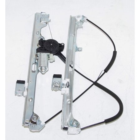 GMC Sierra 1500 Silverado1500 Front Right Passenger Side Power Window Regulator With Motor