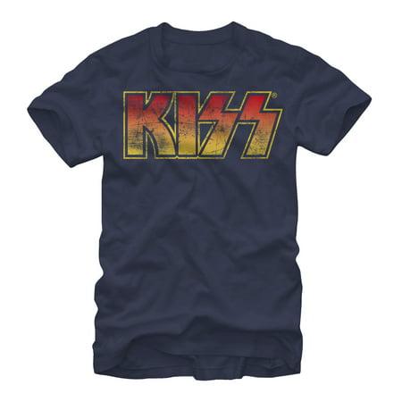- KISS Men's Hot Logo T-Shirt