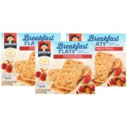 Quaker Breakfast Flat Breakfast Bars, Cranberry Almond, 5 Ct (Pack of 3)