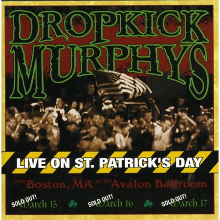 Live On St. Patrick's Day From Boston, MA (CD) (St Patrick ' S Day Songs)