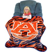 Auburn Tigers Raschel Throw Blanket