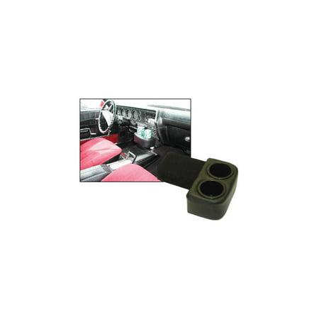 - Eckler's Premier  Products 55198784 El Camino Drink Holders Plug & Chug Vinyl Black For Ss Dash