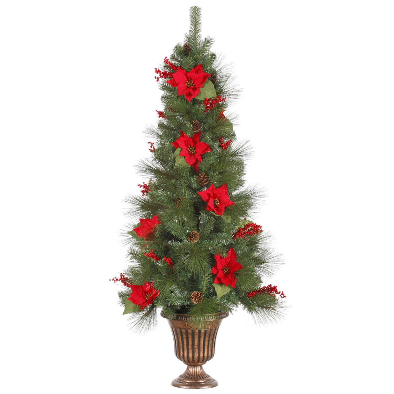 6 Pre Lit Slim Christmas Tree