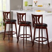 Aidan Scroll Back Adjustable Bar Stool Set Of 3 Walmart Com