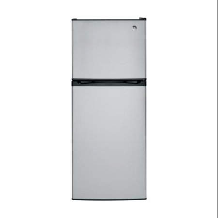"GE  GPS12FSHSB 24"" Freestanding Top Freezer Refrigerator with 11.6 Cu. Ft. Capacity  2 Adjustable"