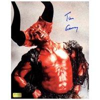 Tim Curry Autographed Legend 8?10 Darkness Studio Photo