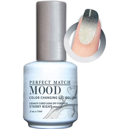 LECHAT Soak off Gel Mood Changing Color - MPMG35 Starry (Le Chat D'halloween)