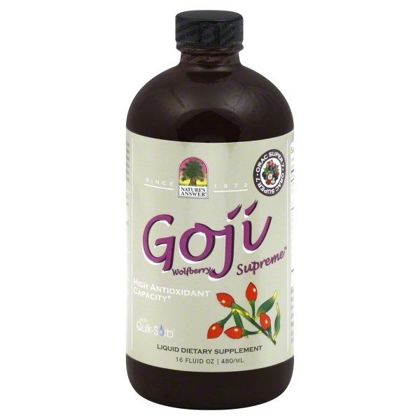 Natures Answer Natures Answer  Goji, 16 oz