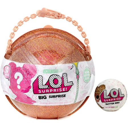 LOL Surprise LIMITED EDITION BIG Surprise & Glitter Ball Mystery - Surprise Ball