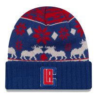 LA Clippers New Era NBA Mosser Cuffed Knit Hat - Red - OSFA