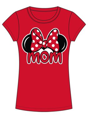 a452ad8b Product Image Disney Junior Minnie Mom Family - Red - Large Fashion Tee