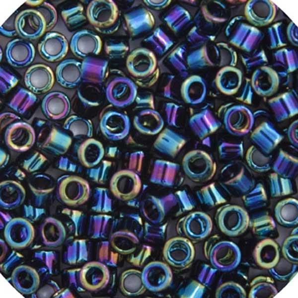 Delica 15/0 RD Black AB - image 1 de 1