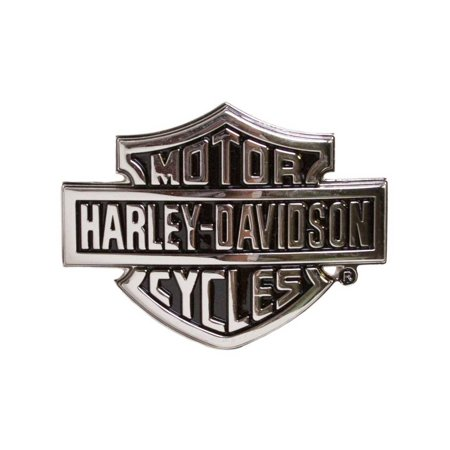 Harley-Davidson Men's Chrome Bar & Shield Logo Belt Buckle HDMBU10615, Harley (Harley Belt Buckles)