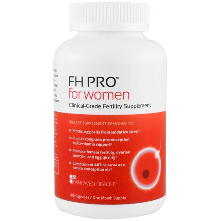 Pro Health Pharmacy (Fairhaven Health, FH Pro for Women, Clinical-Grade Fertility Supplement, 180 Capsules)