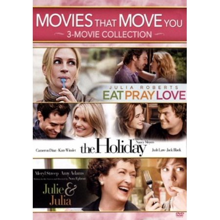 Eat Pray Love / The Holiday / Julie & Julia (DVD) - Love Boat Julie