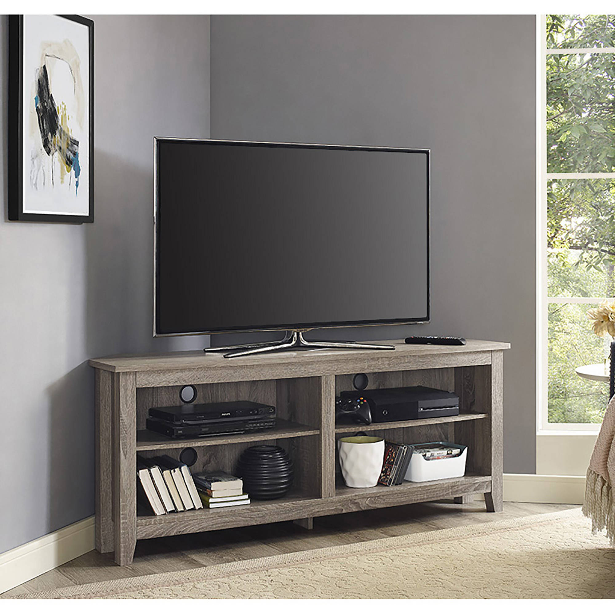Driftwood TV Stand for TVs up to 60