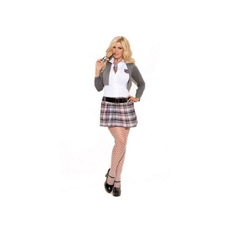 Queen of Detention Costume - Size 3x/4x Womens Halloween Costumes