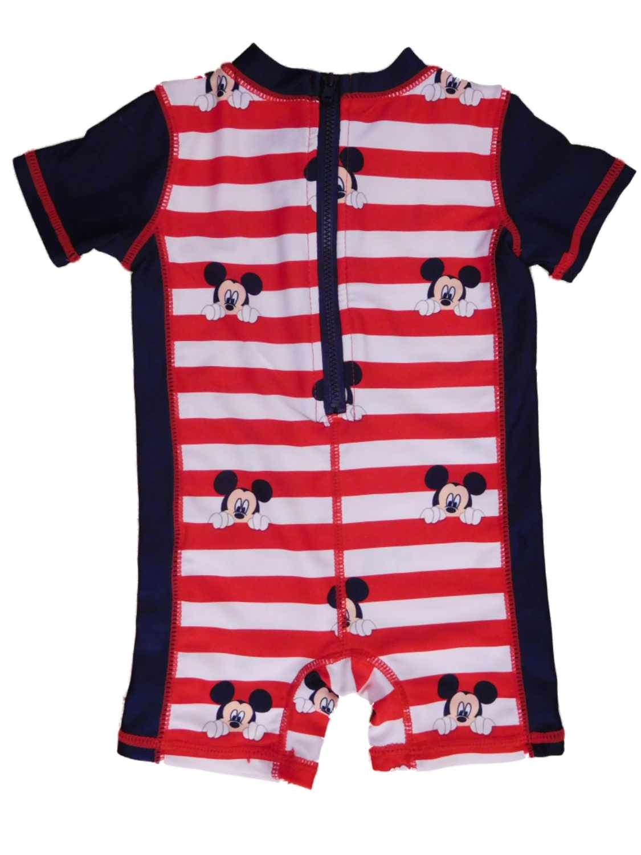 Mickey Mouse Clubhouse Infant Boys Rash Guard Romper Sunsuit Swimsuit 3-6m