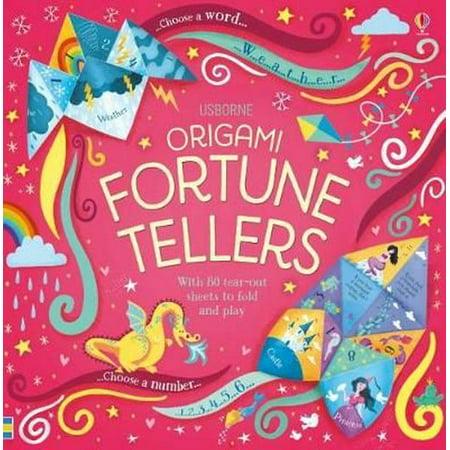 Origami Fortune Tellers (Fortune Teller Halloween Decoration)