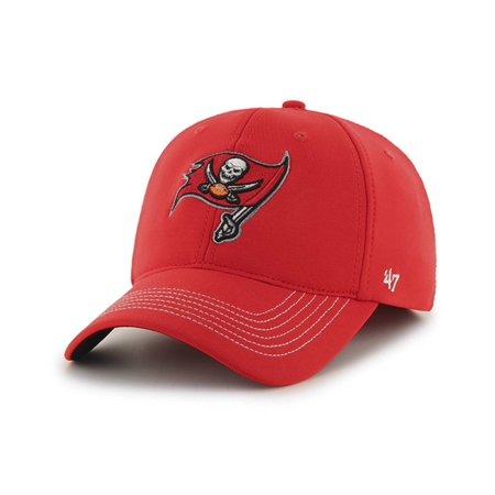 Tampa Bay Buccaneers 47 Brand Torch Red Game Time Closer Stretch Fit Hat Cap by