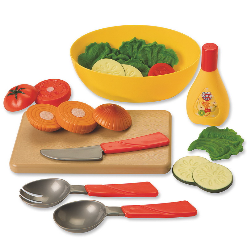 (Price each)Small World Toys LETS MAKE A SALAD by Orda USA