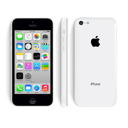 Grade-B Apple Iphone 5c 8GB GSM Unlocked IOS Smartphone - (Best Unlocked Gsm Smartphone Under $100)
