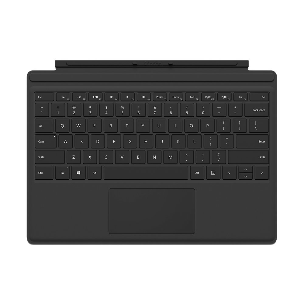 Microsoft Surface Pro 4 Type Cover Black