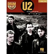 U2 : Drum Play-Along Volume 34