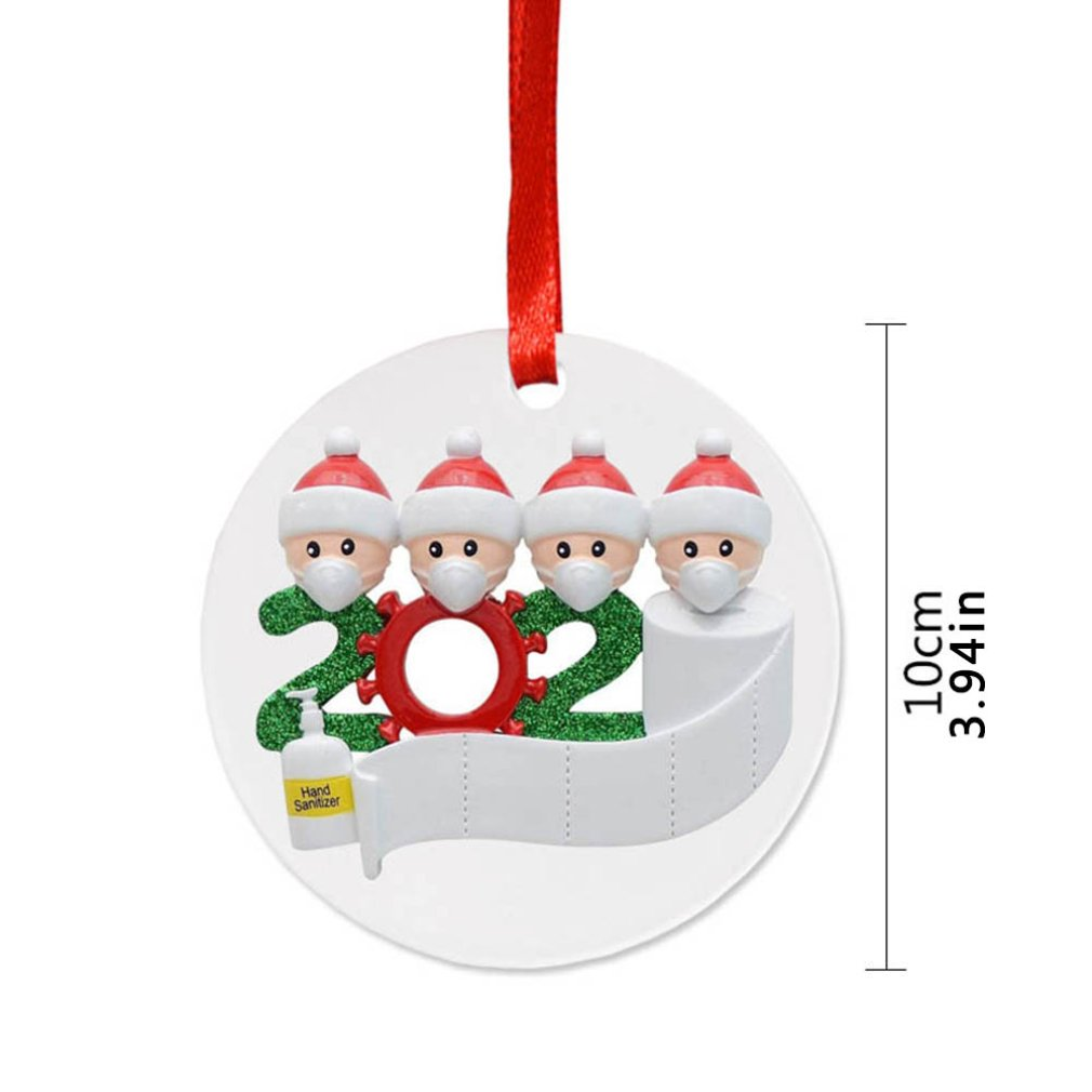 Clearance Sale Merry Christmas Tree Pendant Decoration Resin Hanging  Pendant Decorations For Home Ornament Happy New Year
