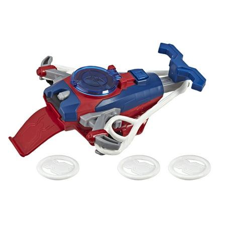 Web Blaster (Spider-Man Web Shots Disc Slinger Blaster Toy for Kids )