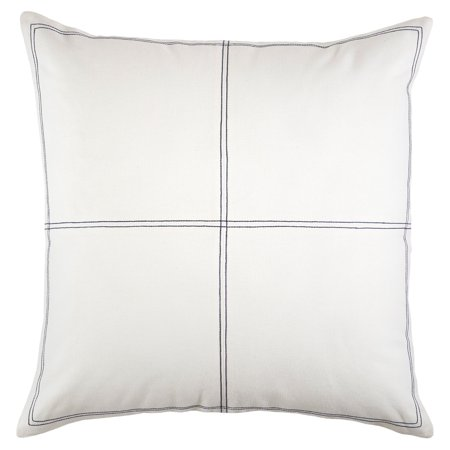 Tommy Hilfiger Canvas Saddle Stitch Euro Sham (Tommy Hilfiger Home European Sham)