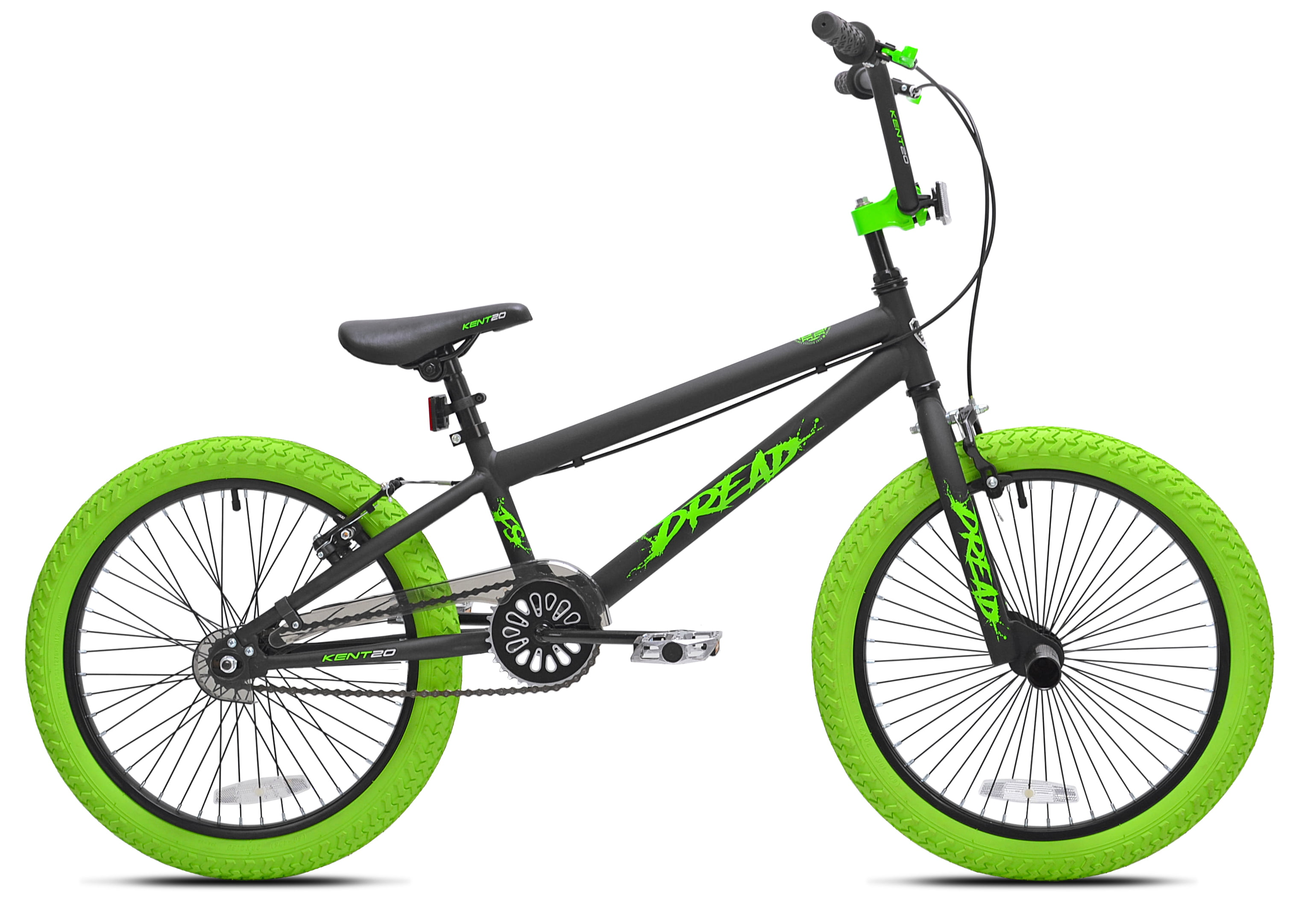 "Kent, Dread BMX Bicycle, Boy's, Green, 20"" by Kent International Inc"