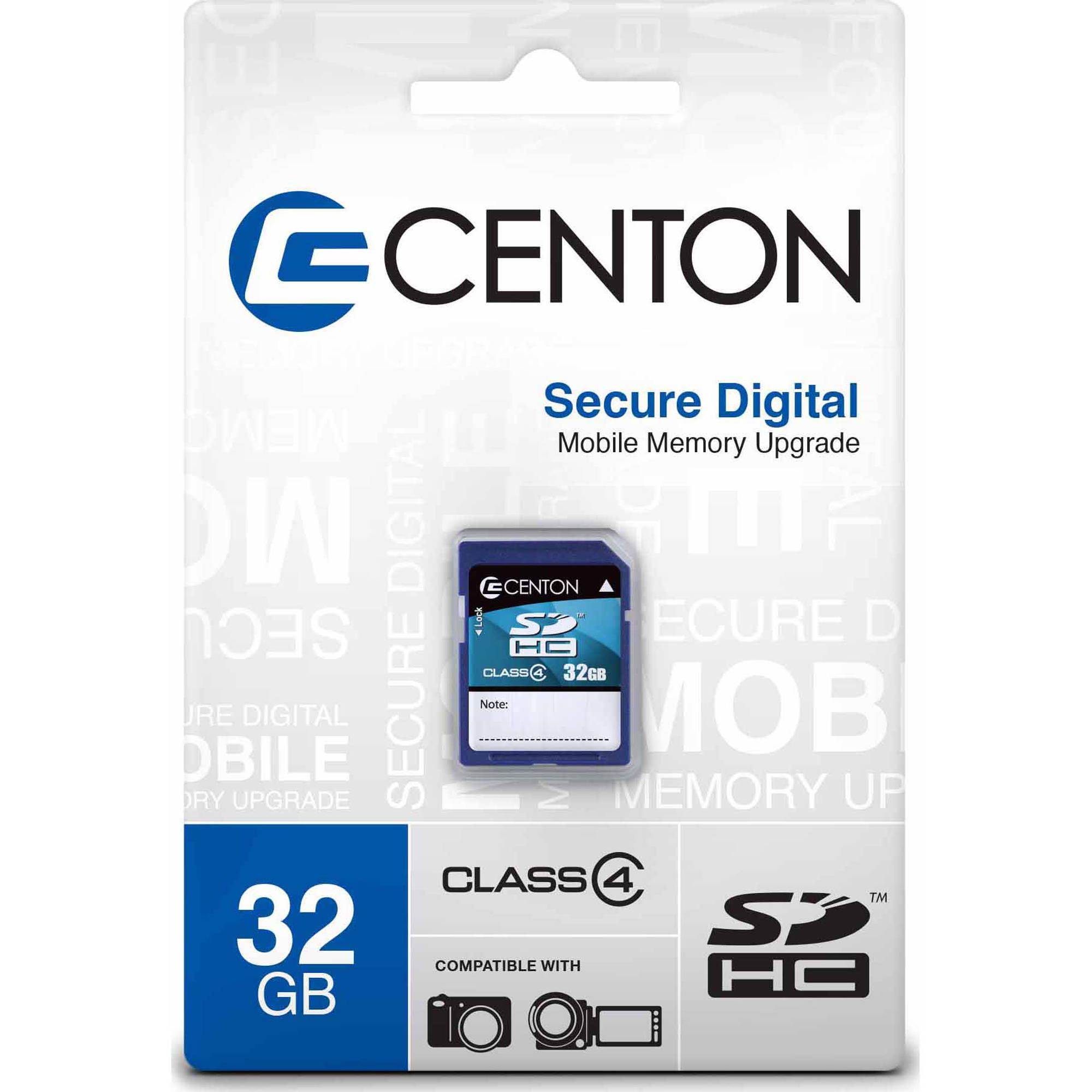 Centon MPO Essential 32GB Class 4 SDHC Memory Card
