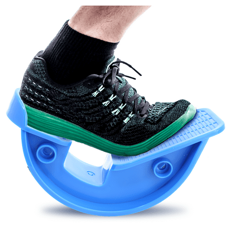 Pivit Foot Rocker Calf Stretcher | Feet Ankle & Leg Stretching for Achilles Tendinitis & Plantar Fasciitis Pain Relief | Stretches Strained Leg Muscle | Ankle Wedge Stretch Improves Flexibility (Pain In Heel Of Foot And Calf)