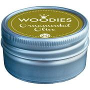 Woodies Dye-Based Ink Tin-Ornamental Olive