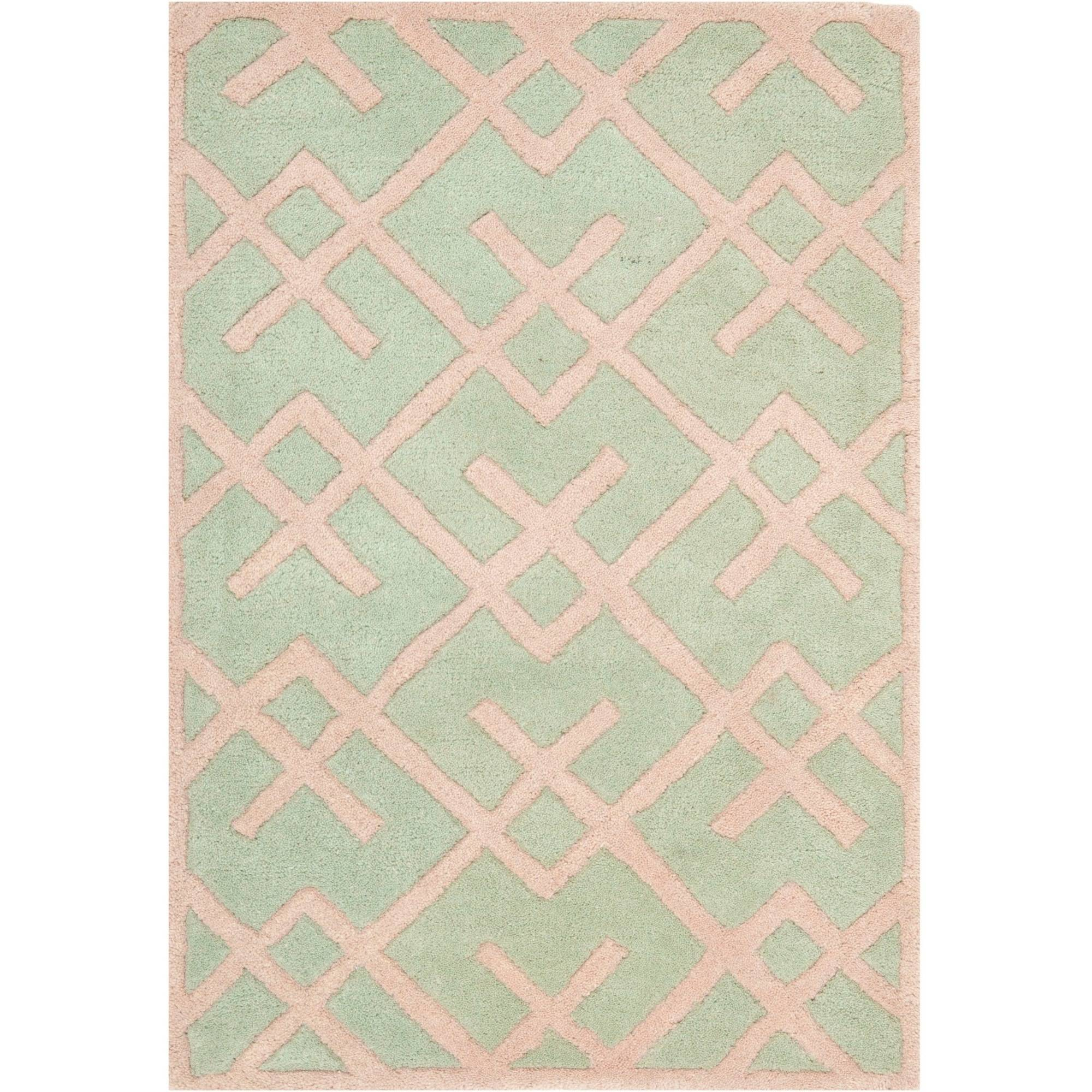 Safavieh Chatham Ian Hand-Tufted Wool Area Rug, Green