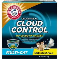 Arm & Hammer Cloud Control Clumping Cat Litter, 14lb