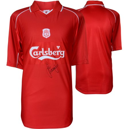 99a8a63b050 Jamie Carragher Liverpool Autographed Red 2001-2002 Jersey - ICONS - Fanatics  Authentic Certified - Walmart.com