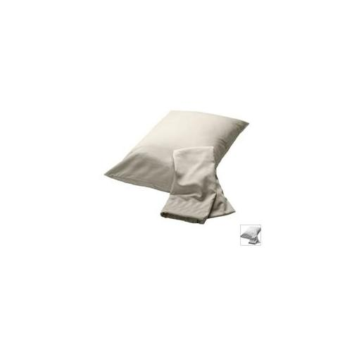 BedVoyage Rayon from Bamboo Full/Standard Pillowcase Set in White
