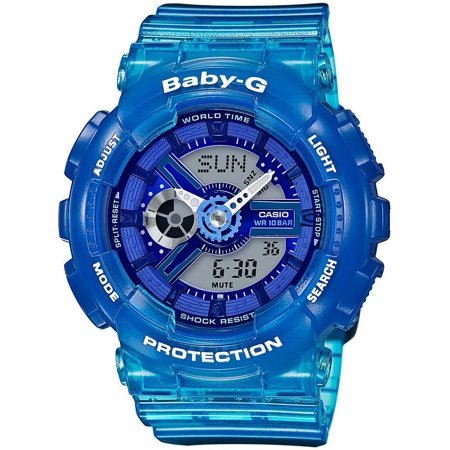 Baby-G Blue Digital Analog Watch BA110JM-2A