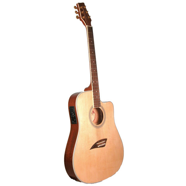 Kona K2 Series Thin Body Acoustic/electric Guitar