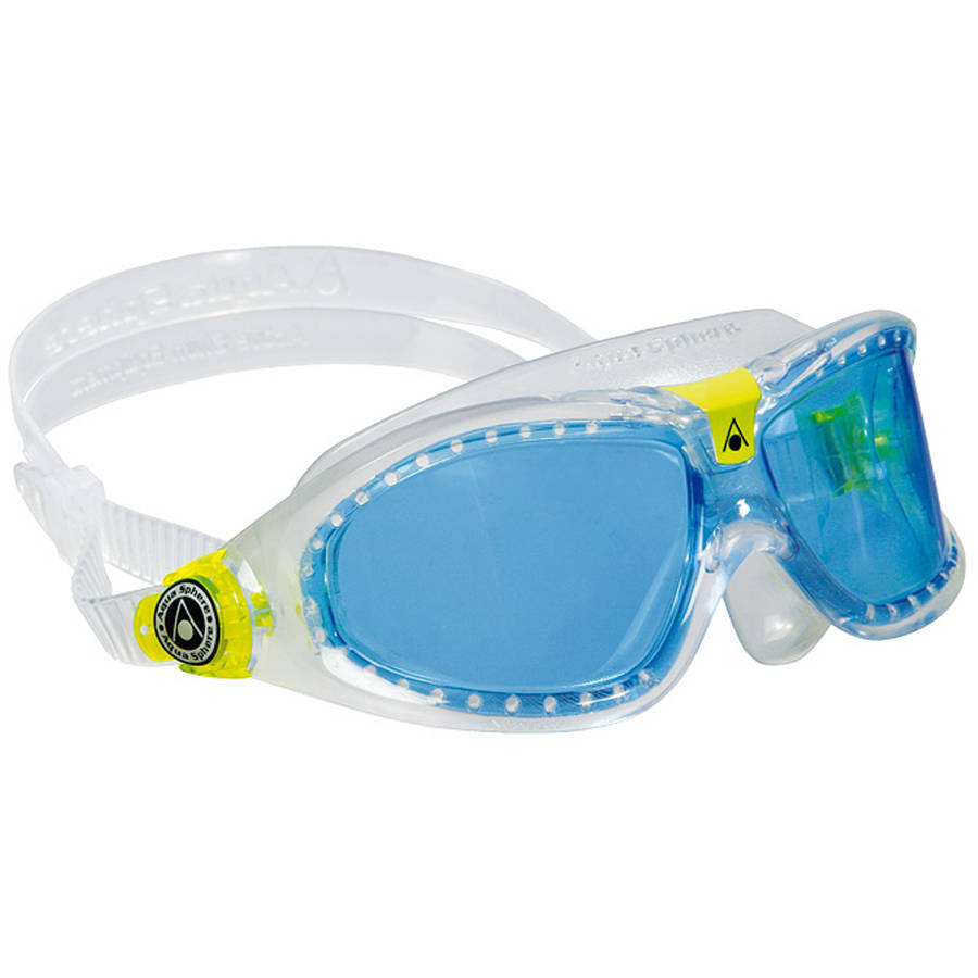 Seal Kid 2 Translucent Goggles, Blue Lens by Aqua Lung America