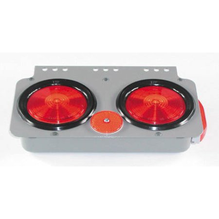 Red Right Side 12 3 4  X 7 3 4  Trailer Module Lights  1 Per Pack