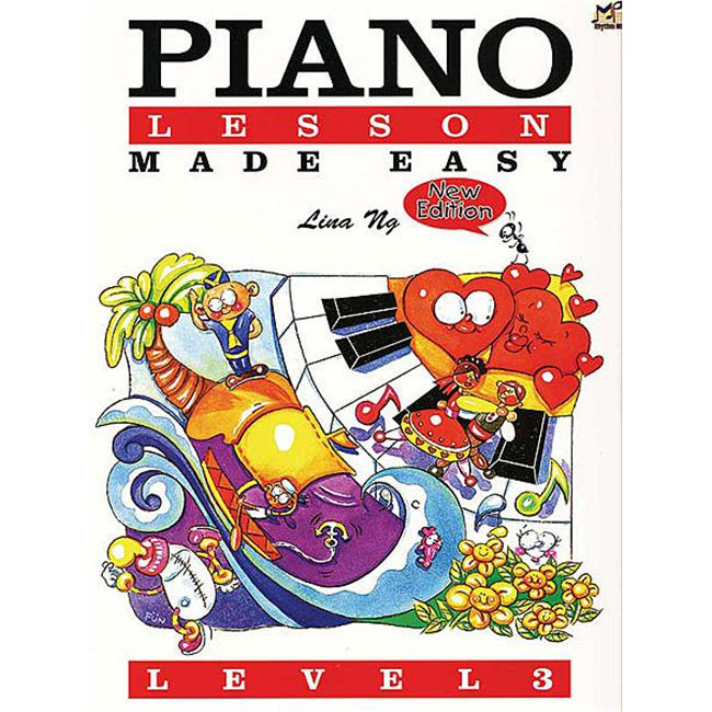Alfred 12-MPP400203 Piano Lessons Made Easy- Level 3 Music Book by